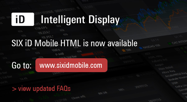 SIX iD Mobile HTML now available